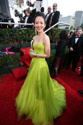Ziya Zhang the Golden Globe Awards Ceremony - Image courtesy of � HFPA and 63rd Golden Globe Awards�""