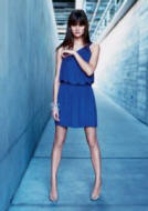 This �35 blue one shoulder jersey dress is from Warehouse Spring/Summer 2007.