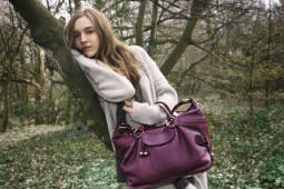 Billy Bag in purple style Holly bag �255.