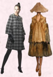 Fashion History - Fall 2007 Coats by Dior - 2007 Fashion History.
