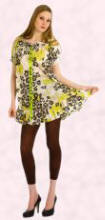 Floral Print Smock Tunic, �39 from Discoo - Online fashion store Spring/Summer 2007