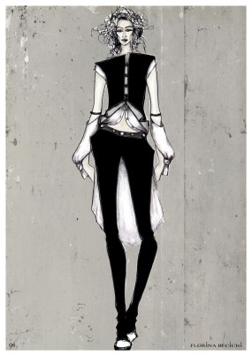 Fashion Drawings by Florina Becichi