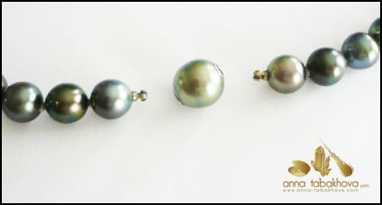 Pearls with bayonet end connection ready for any style of CliClasp �.