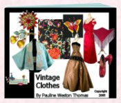 Vintage Clothes Ebook by Pauline Thomas of Fashion-era