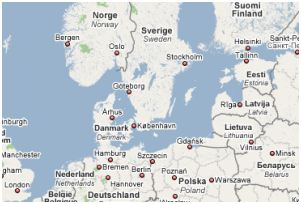 Nearby places to Bergen.