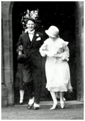 Wedding of Norman Shaw & Mary Anderson 1926