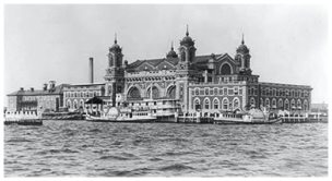 Ellis Island Immigration Station - Fashion history dating old photos 1926 -27.