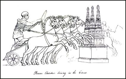 Picture of Roman Chariot & Roman Driver
