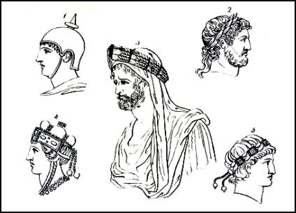 Hairstyles and Headwear of Roman Men