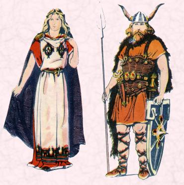 A Saxon Chief & A Saxon Lady