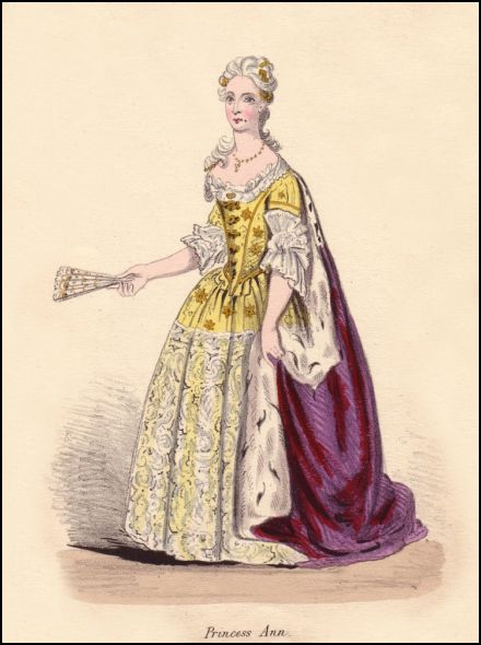 Onwhyn costume based on Georgian Princess Ann