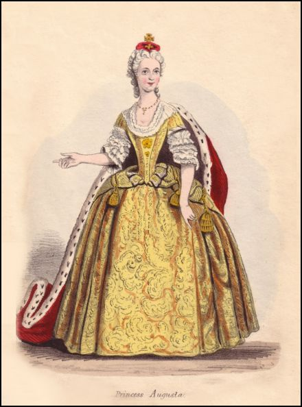Onwhyn costume based on Princess Augusta