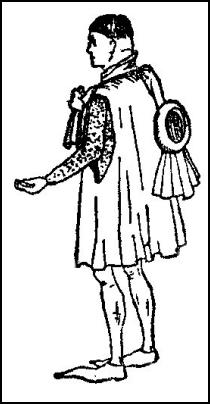 Male Fashion 1422-1461 - Roundlet Headwear and Cloak