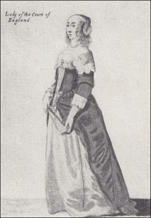 Image 31 -A Lady Of The Court Of England