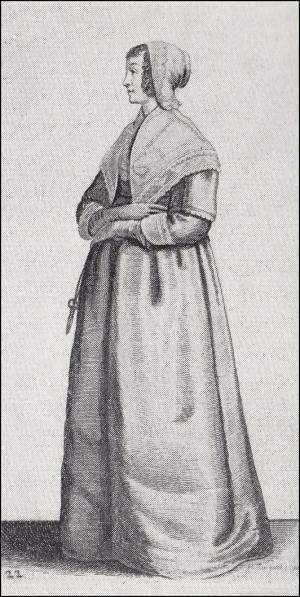 1640 - Lady with scissors