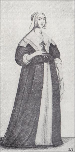 Lady with a handkerchief