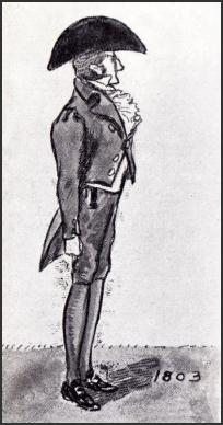 DRAWING OF MAN 1803