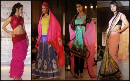 Indian Fashion Shown at Vibrant Fashion Week.