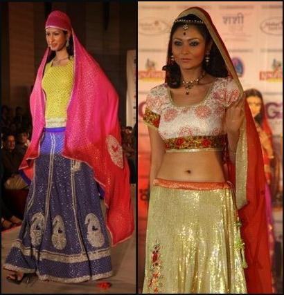 Swirling Lehengas - Long Maxi Skirts