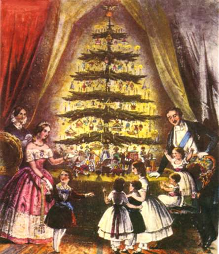 Tradition Of The Christmas Tree